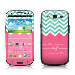 Samsung Galaxy S III Skin - Live Laugh Love