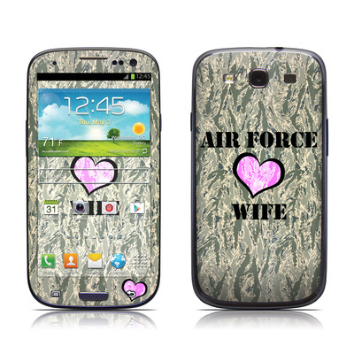 Samsung Galaxy S III Skin - Air Force Wife