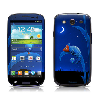 Samsung Galaxy S III Skin - Alien and Chameleon