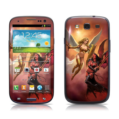 Samsung Galaxy S III Skin - Angel vs Demon