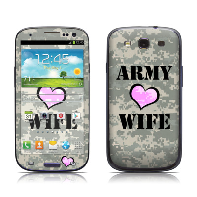 Samsung Galaxy S III Skin - Army Wife