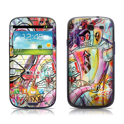 Samsung Galaxy S III Skin - Battery Acid Meltdown