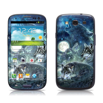 Samsung Galaxy S III Skin - Bark At The Moon