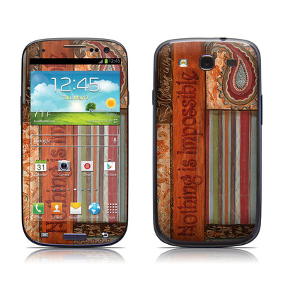 Samsung Galaxy S III Skin - Be Inspired