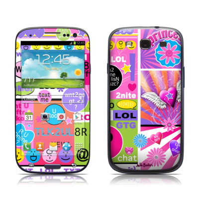 Samsung Galaxy S III Skin - BFF Girl Talk