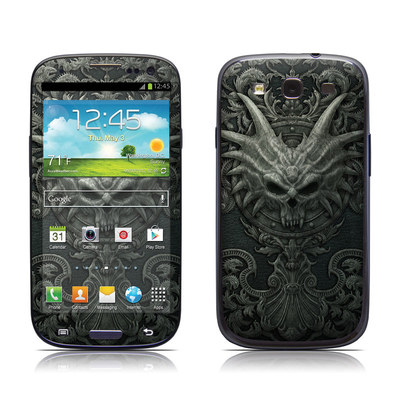 Samsung Galaxy S III Skin - Black Book