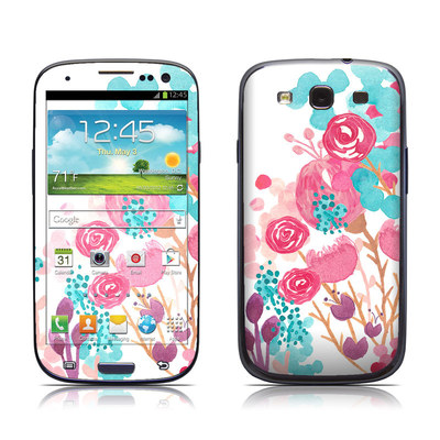 Samsung Galaxy S III Skin - Blush Blossoms