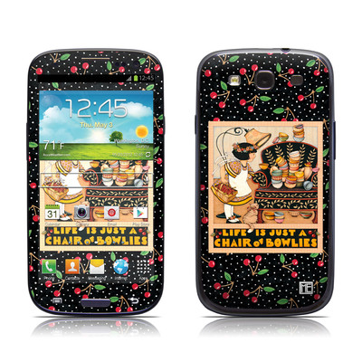 Samsung Galaxy S III Skin - Chair of Bowlies