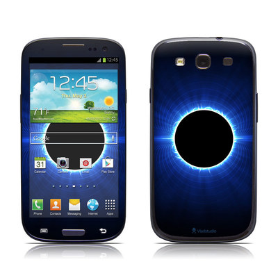 Samsung Galaxy S III Skin - Blue Star Eclipse