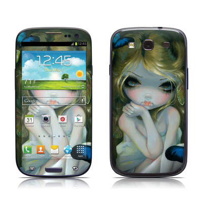 Samsung Galaxy S III Skin - Butterfly Lily