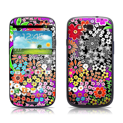 Samsung Galaxy S III Skin - A Burst of Color