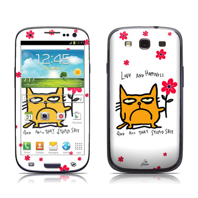 Samsung Galaxy S III Skin - Catwad Happy