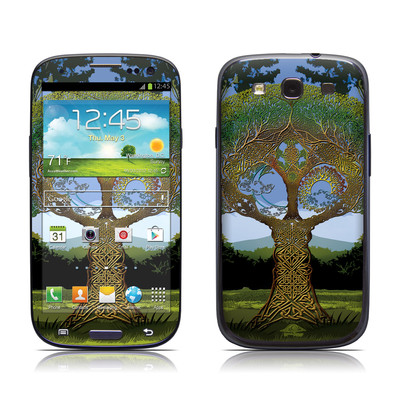 Samsung Galaxy S III Skin - Celtic Tree