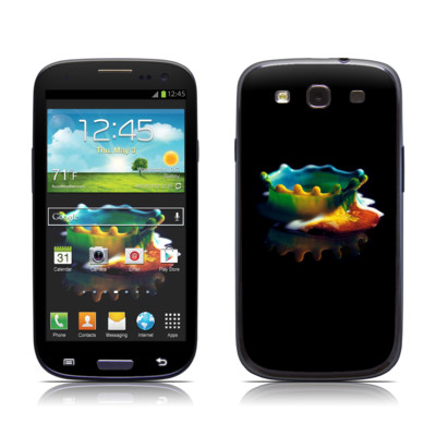Samsung Galaxy S III Skin - Colored Crown