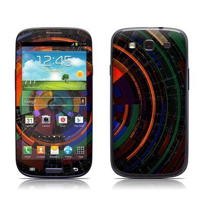 Samsung Galaxy S III Skin - Color Wheel