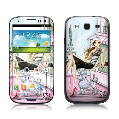 Samsung Galaxy S III Skin - Cafe Paris