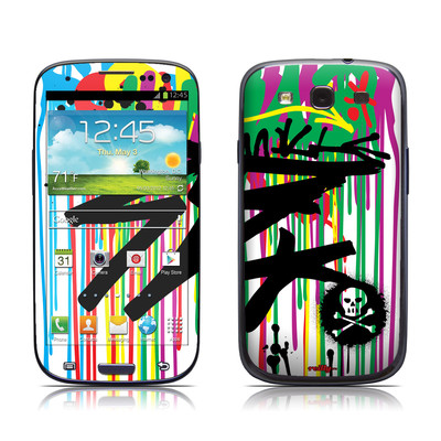 Samsung Galaxy S III Skin - Colour Rain