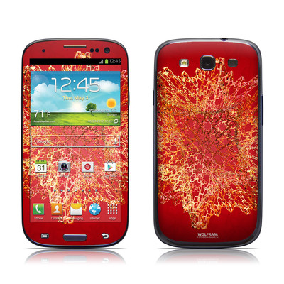 Samsung Galaxy S III Skin - Dodecahedron Cage