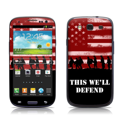 Samsung Galaxy S III Skin - Defend
