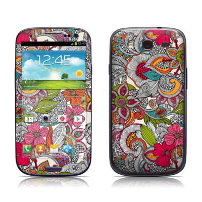 Samsung Galaxy S III Skin - Doodles Color