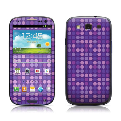 Samsung Galaxy S III Skin - Dots Purple
