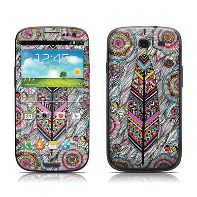 Samsung Galaxy S III Skin - Dream Feather
