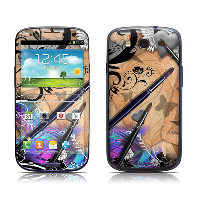 Samsung Galaxy S III Skin - Dream Flowers