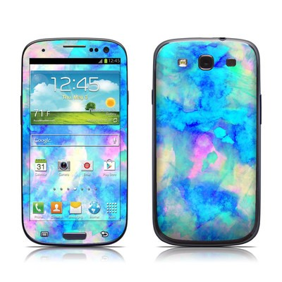 Samsung Galaxy S III Skin - Electrify Ice Blue