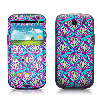 Samsung Galaxy S III Skin - Fly Away Teal