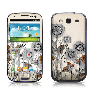Samsung Galaxy S III Skin - Four Flowers