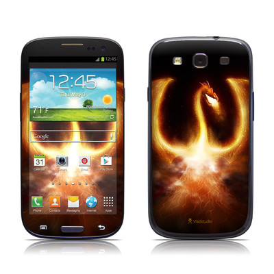 Samsung Galaxy S III Skin - Fire Dragon