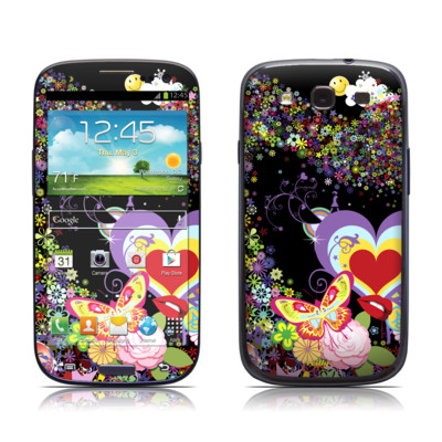Samsung Galaxy S III Skin - Flower Cloud