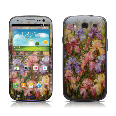 Samsung Galaxy S III Skin - Field Of Irises
