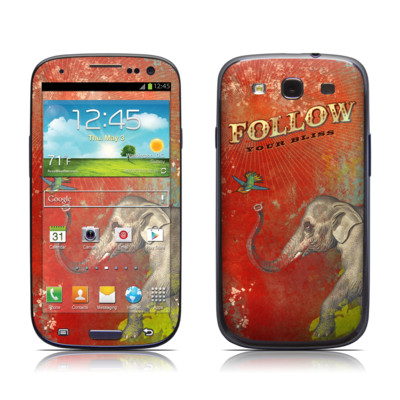 Samsung Galaxy S III Skin - Follow Your Bliss