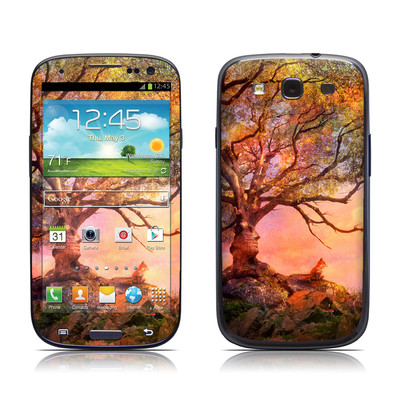 Samsung Galaxy S III Skin - Fox Sunset