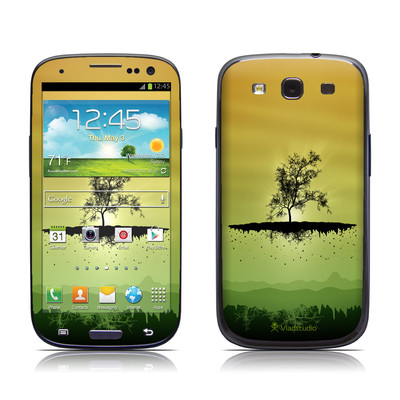 Samsung Galaxy S III Skin - Flying Tree Amber