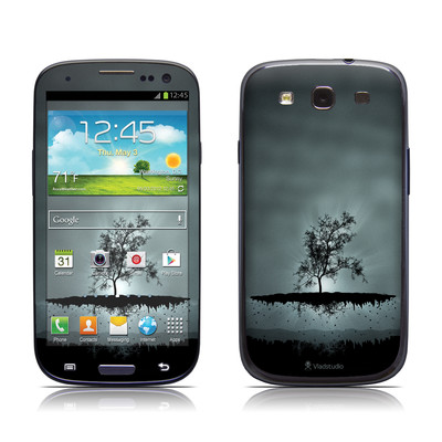 Samsung Galaxy S III Skin - Flying Tree Black