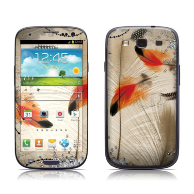 Samsung Galaxy S III Skin - Feather Dance