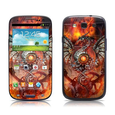 Samsung Galaxy S III Skin - Furnace Dragon