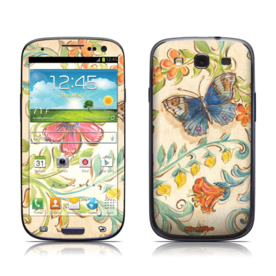 Samsung Galaxy S III Skin - Garden Scroll
