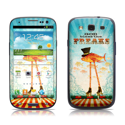 Samsung Galaxy S III Skin - God Bless The Freaks