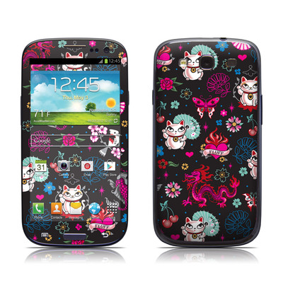 Samsung Galaxy S III Skin - Geisha Kitty
