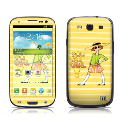 Samsung Galaxy S III Skin - You Go Girl