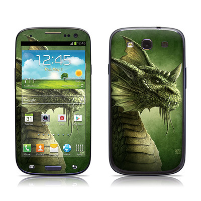 Samsung Galaxy S III Skin - Green Dragon