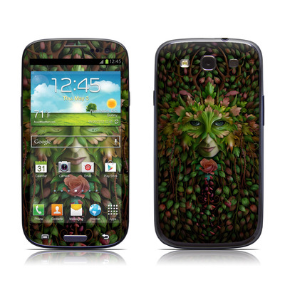 Samsung Galaxy S III Skin - Green Woman