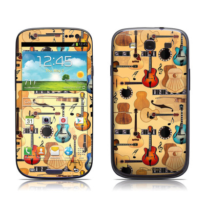 Samsung Galaxy S III Skin - Guitar Collage