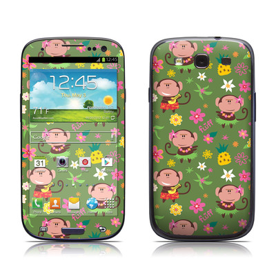 Samsung Galaxy S III Skin - Hula Monkeys