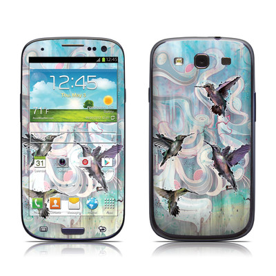 Samsung Galaxy S III Skin - Hummingbirds