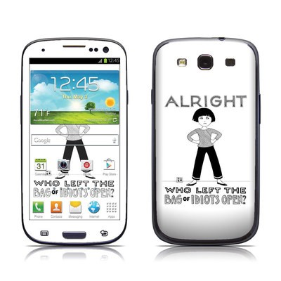 Samsung Galaxy S III Skin - Bag of Idiots