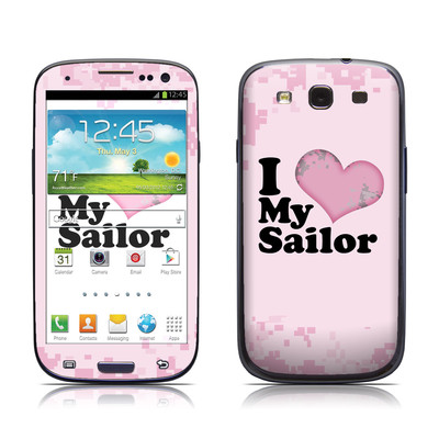 Samsung Galaxy S III Skin - I Love My Sailor